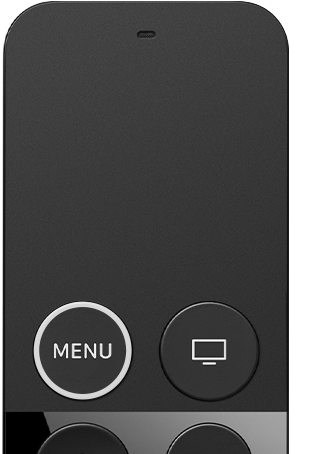 2017 年的 Siri Remote